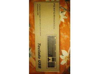 Vendo Teclados USB. Nuevos! Hago envíos Paraná.