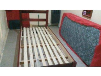 Vendo cama de una plaza