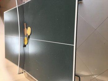 Mesa ping pong plegable