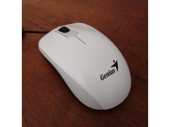 Mouse Genius óptico. USB. Blanco. Nuevos en caja
