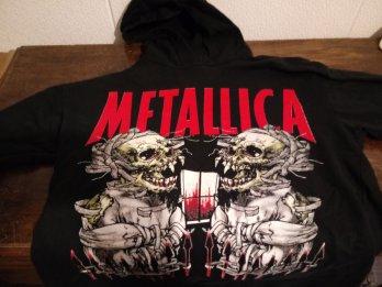 Vendo buzo de Metallica XL