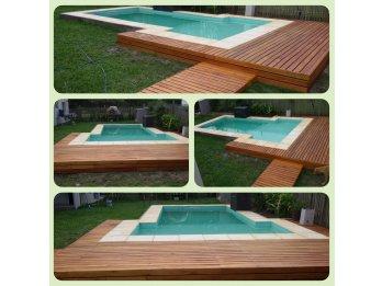 Construimos  piscinas / Deck y otros