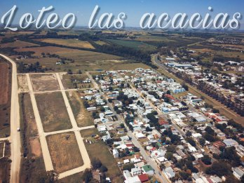 OFERTA !!! Lote en esquina en Loteo Las Acacias- ORO VERDE