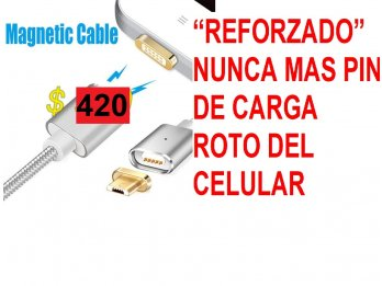 CABLE MAGNETICO MICROUSB O CLASE C