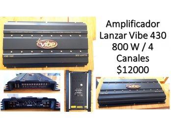 Amplificador Lanzar Vibe 430