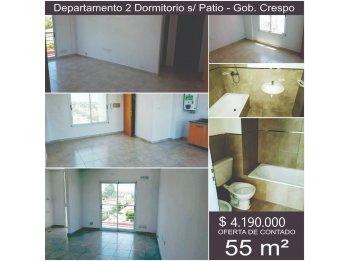 Edificio Crespo ~ Dpto. 2 Dorm.