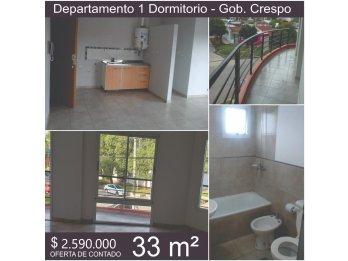 Edificio Crespo ~ Dpto. 1 Dorm.