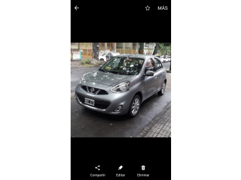 Impecable Nissan March - ADVANCE PURE DRIVE-