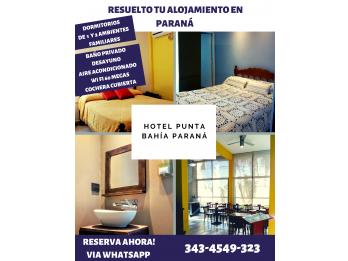Clasico Hotel Familiar en Paraná