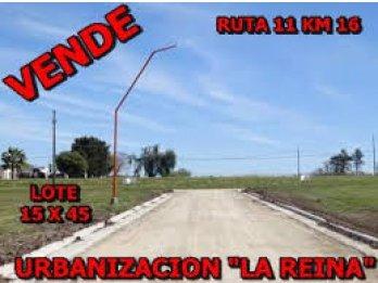 LOTEO LA REINA  COL.ENSAYO - RUTA 11 KM 16, AMPLIO 640 M2