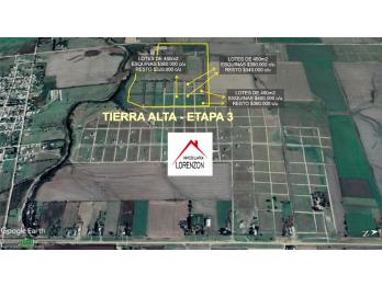 PRECIOS INCREIBLES EN TIERRA ALTA ETAPA 3 !