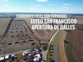 LOTEO SAN FRANCISCO EN COLONIA ENSAYO DE 250M2 DESDE $570400